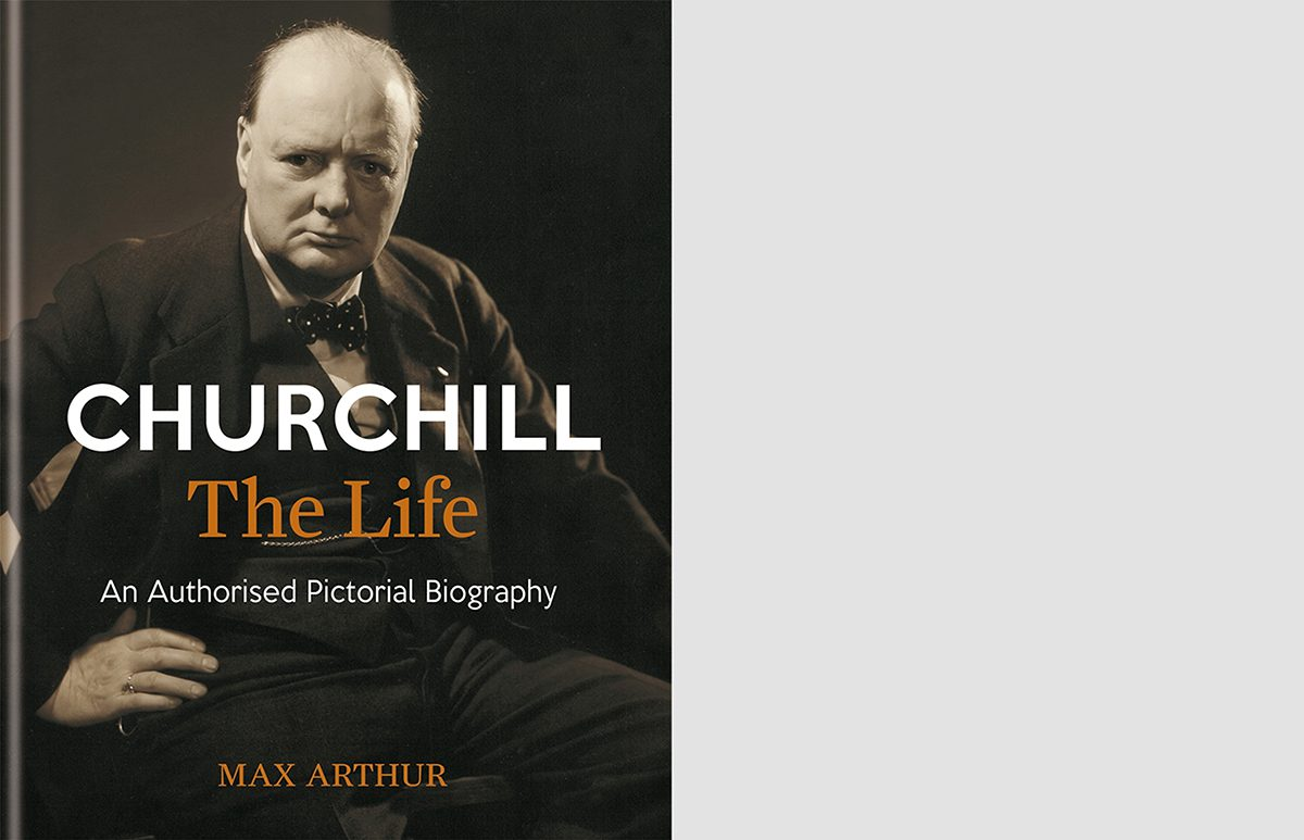 Churchill, The Life cover spread