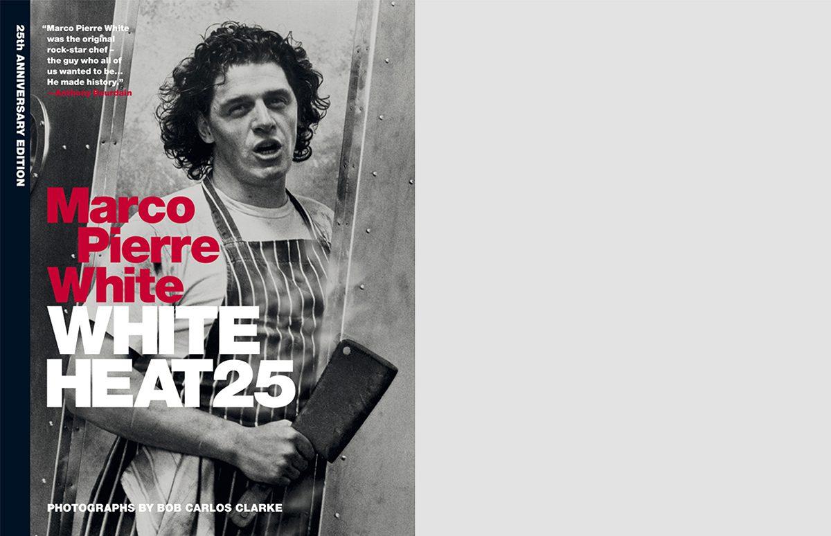 White Heat 25 cover