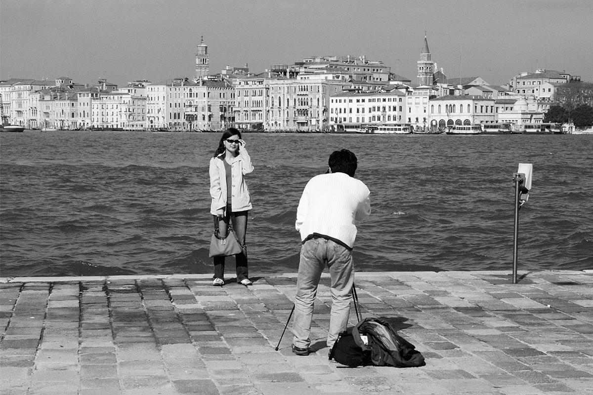 Venice from San Giorgio Maggiore, Italy, 2006.Photograph by David Rowley