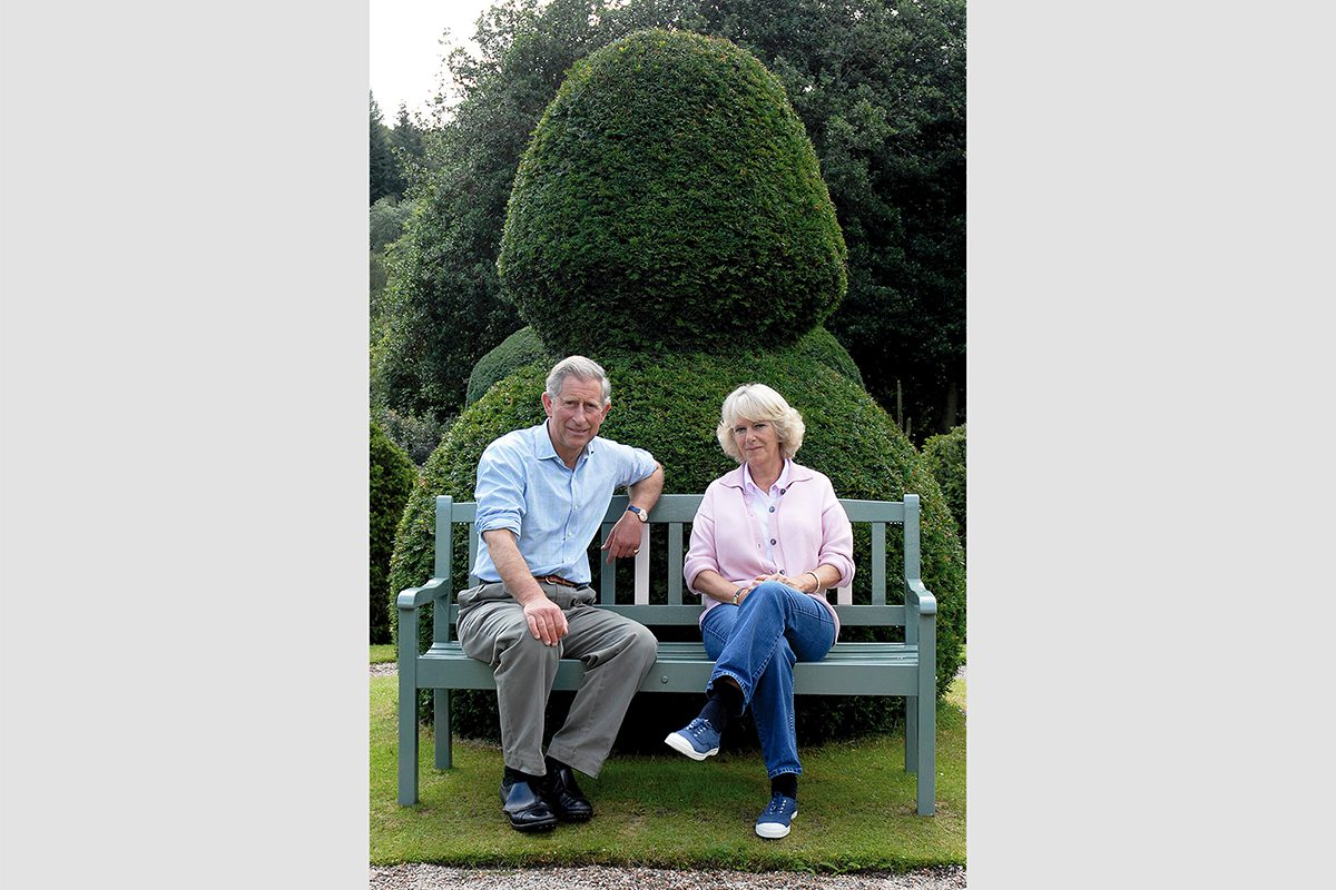 HRH The Prince of Wales and the Duchess of Cornwall, Birkhall, 2006. Photograph by David Rowley