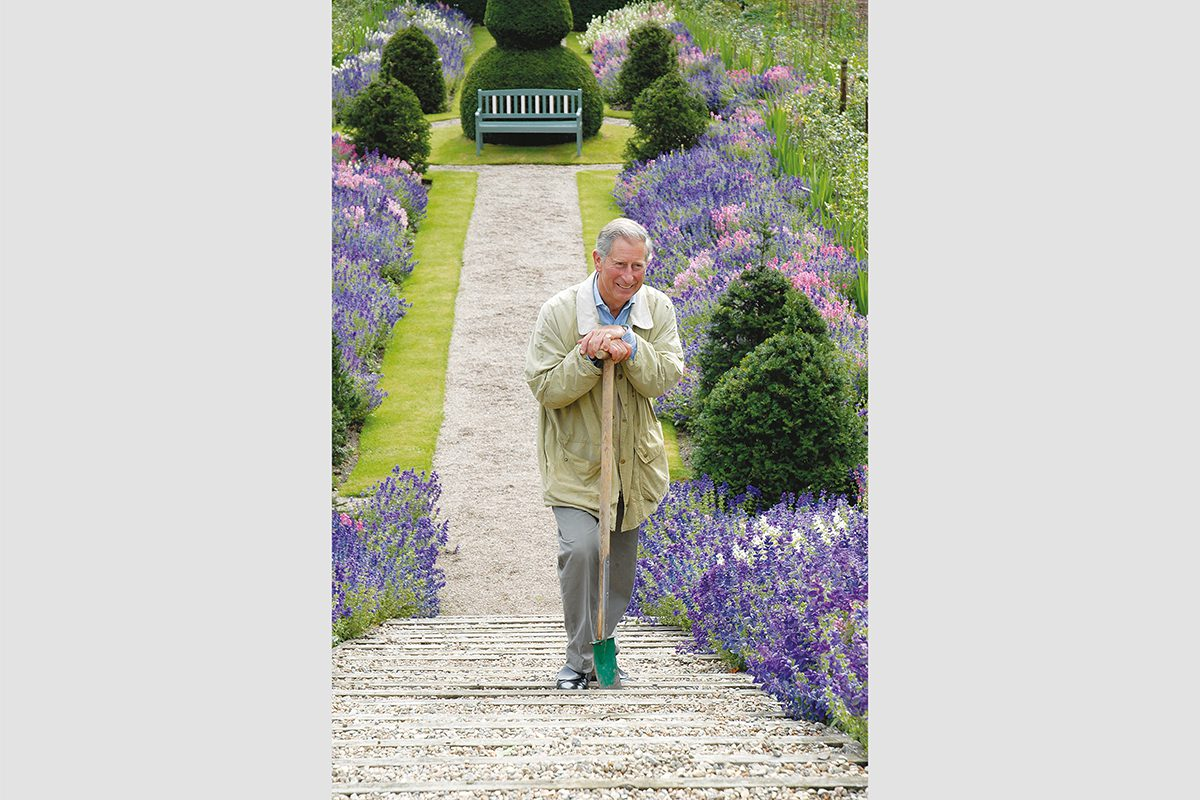 HRH The Prince of Wales at Birkhall, Scotland, 2006. Photograph by David Rowley
