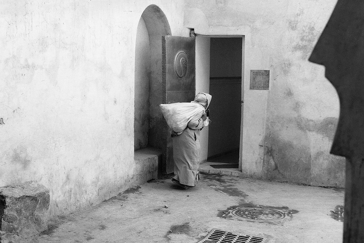 The Medina, Marrakesh, Morocco, 2001. Photograph by David Rowley