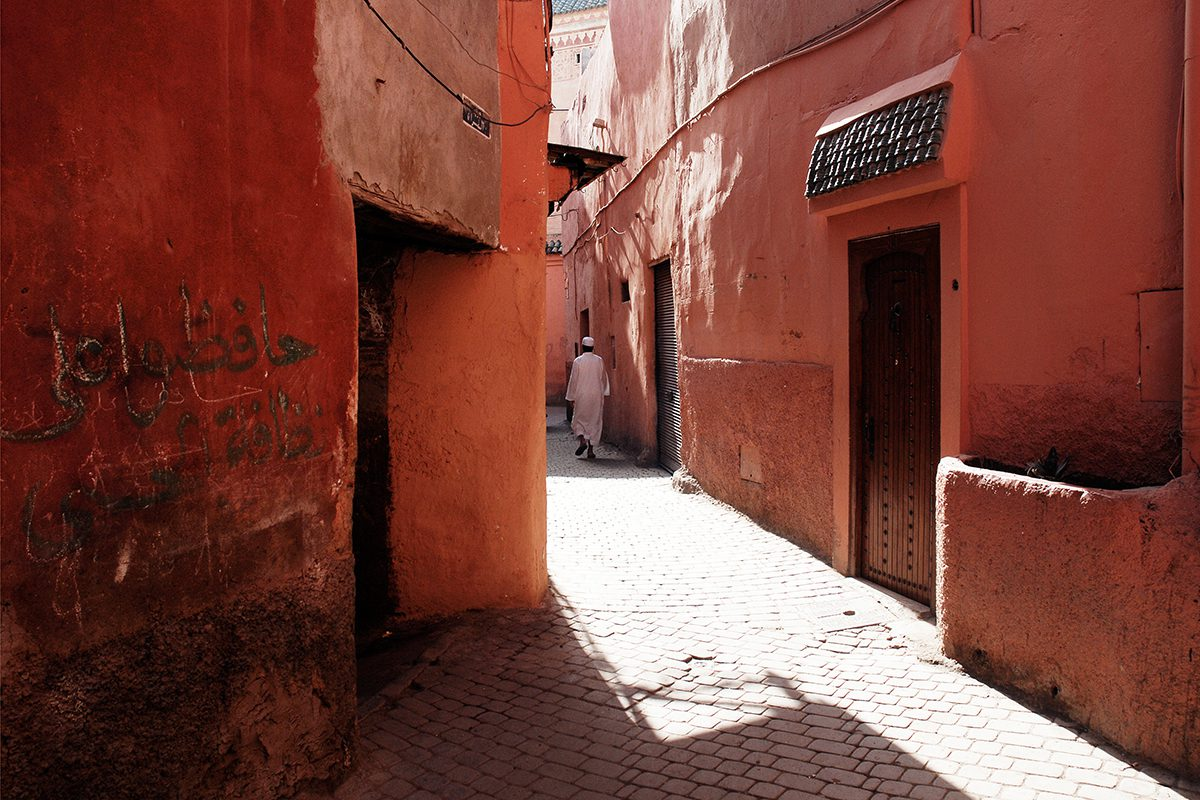 Light and shadow, Marrakesh, Morocco, 2008.