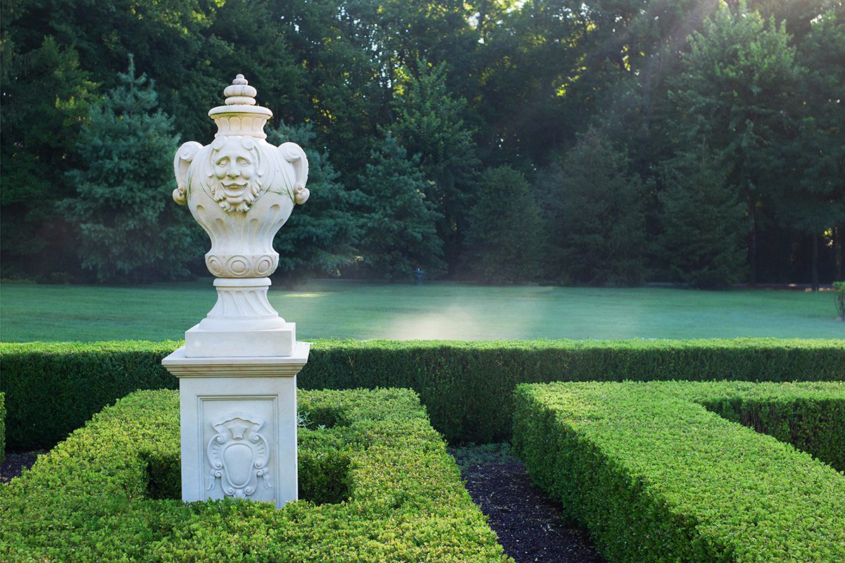 Early morning at Villa Collina, New Jersey, USA, 2015. Photograph by David Rowley