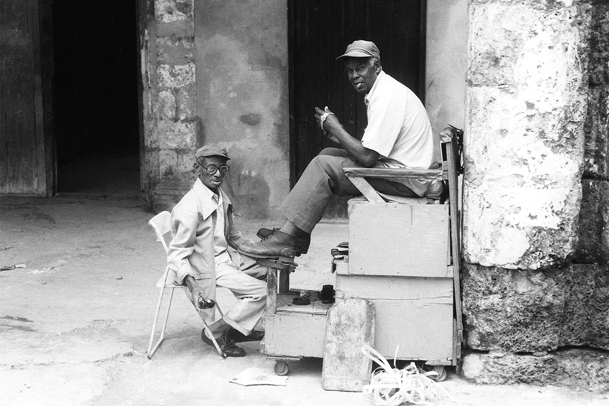Old Havana, Cuba, 2000. Photograph by David Rowley